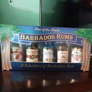 BARBADOS Rums Set